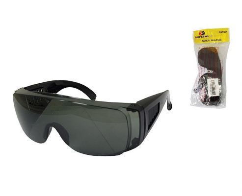 YS 002  LOUVER SAFETY GOGGLES -GREY  00328K