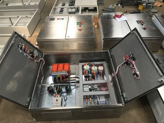 Stainless Steel Distribution Board - Internal