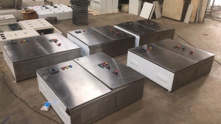 Stainless Steel Distribution Board