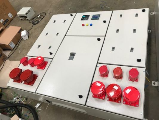 Sub Switchboard for convention centres