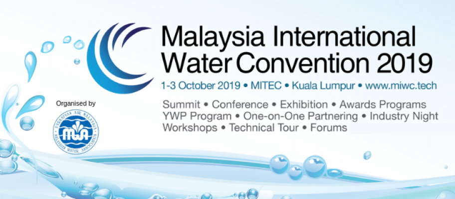 Malaysia International Water Convention (MIWC) 2019