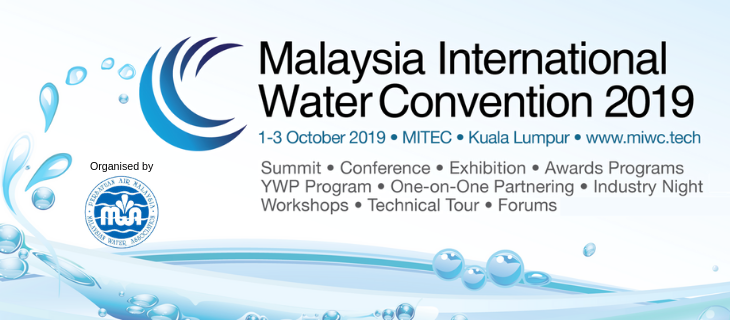 Malaysia International Water Convention (MIWC) 2019 October 2019