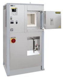Chamber high temperature furnaces with fiber insulation up to 1800��C