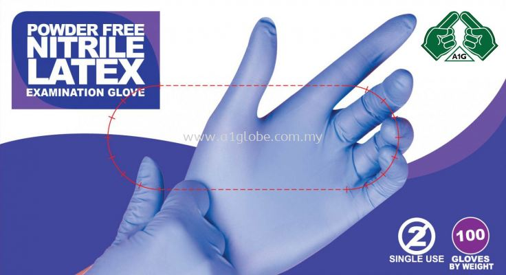 Powder & Powder Free Nitrile Gloves
