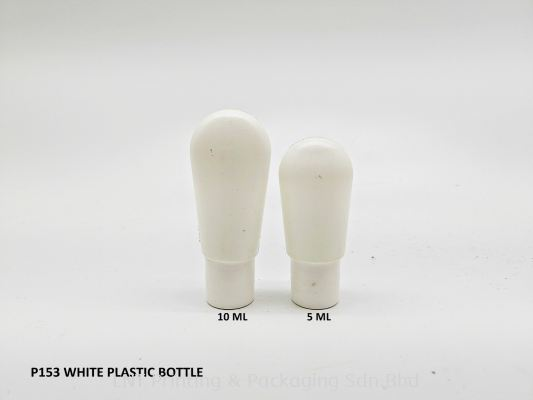 WHITE PLASTIC BOTTLE