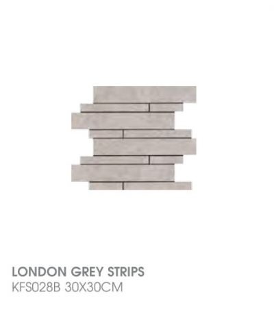 London Grey Strips KFS028B