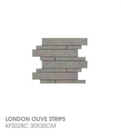 London Olive Strips KFS028C
