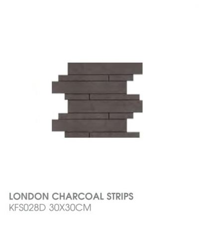 London Charcoal Strips KFS028D