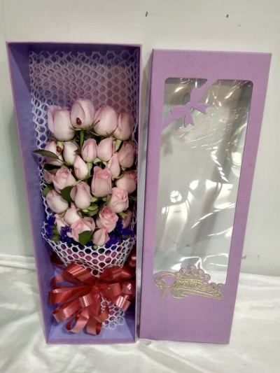 Rose Bouquet in Box (BF-782)