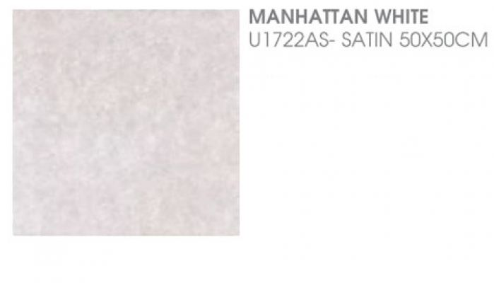 Manhattan White U1722AS - Satin