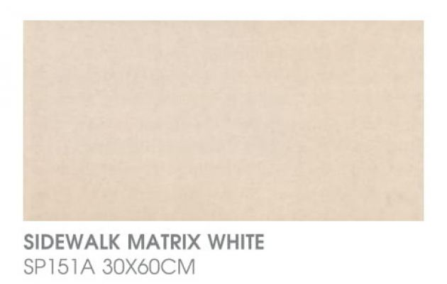 Sidewalk Matrix White SP151A