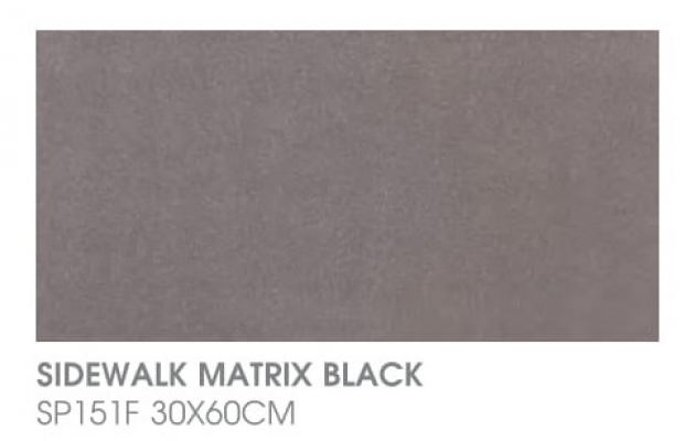 Sidewalk Matrix Black SP151F