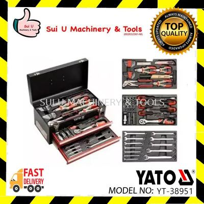 Yato YT-38951 Tool Box with 80pcs Tools Set