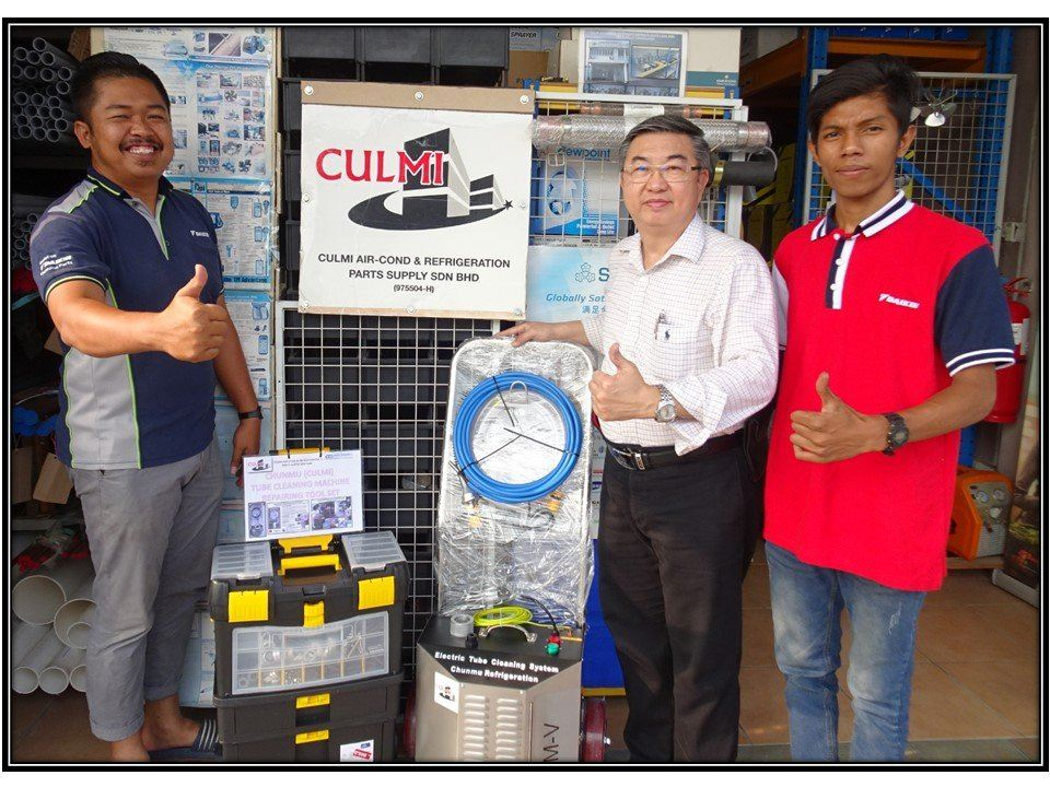 CHUNMU (CULMI) CM-V Tube Cleaning Machine Full Offering Of Technical Training & Repairing