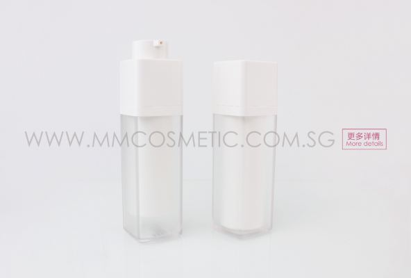 Square Acrylic pump Bottle
