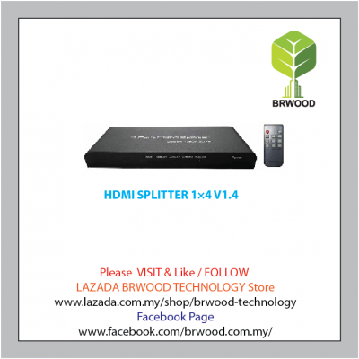 HDMI SPLITTER 1��4 V1.4 - TW-HDMI-SP14004M1