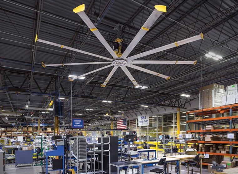 IMPROVE YOUR FACILITY WITH HVLS FANS