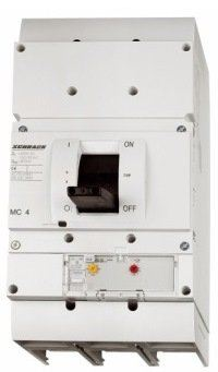 Moulded Case Circuit Breaker 3/4 Pole, Size 4 with Electronic Release