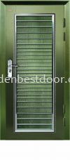 P1-SH16 Powder Coated 3ft x7ft Malaysia Safety Door