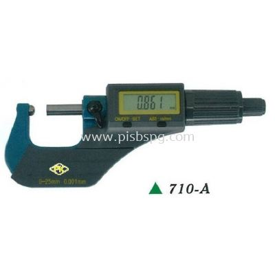 Tube Thickness Measuring Digital Micrometer 710-A