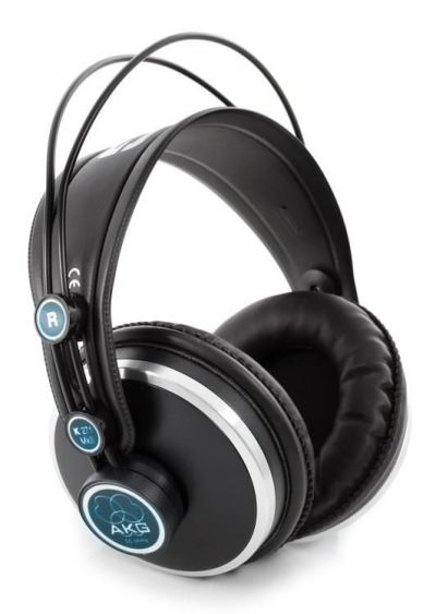 AKG K271 Closed-Back Studio and Live Headphones with Mute