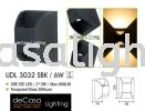 OUTDOOR WALL LIGHT UDL 3032 SBK 6W Outdoor Underground Light OUTDOOR LIGHT