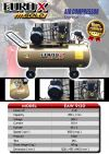 EuroX Gold EAW9120 3HP 120L Heavy Duty Air Compressor - ITALY Piston Head    Europower & Eurox & Robintec  Air Compressor