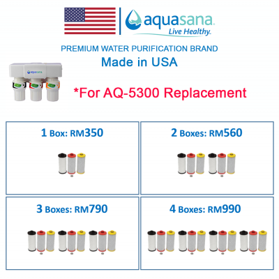 AQUASANA AQ-5300R Replacement Cartridge (For AQUASANA AQ-5300 Water Filter)