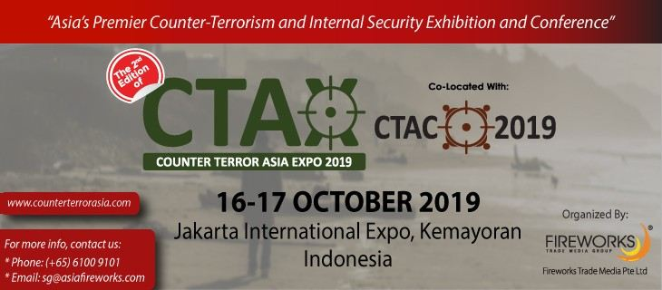 2nd Counter Terror Asia Expo (CTAX 2019) October 2019