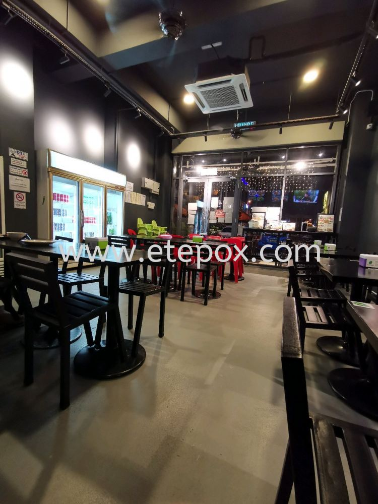 Petai King Restaurant with Epoxy Coating