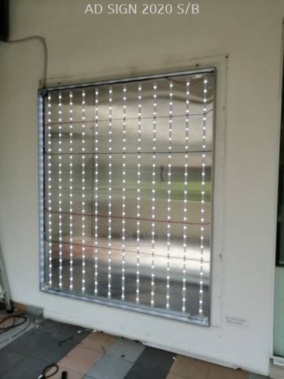 Frameless Lightbox (LED) Fabric