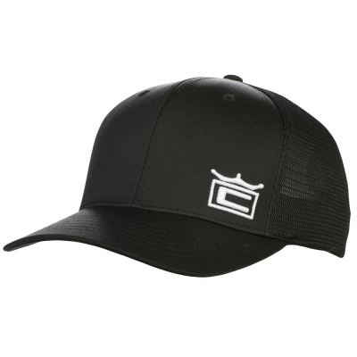 COBRA CROWN TRUCKER SNAPBACK BLACK CAP