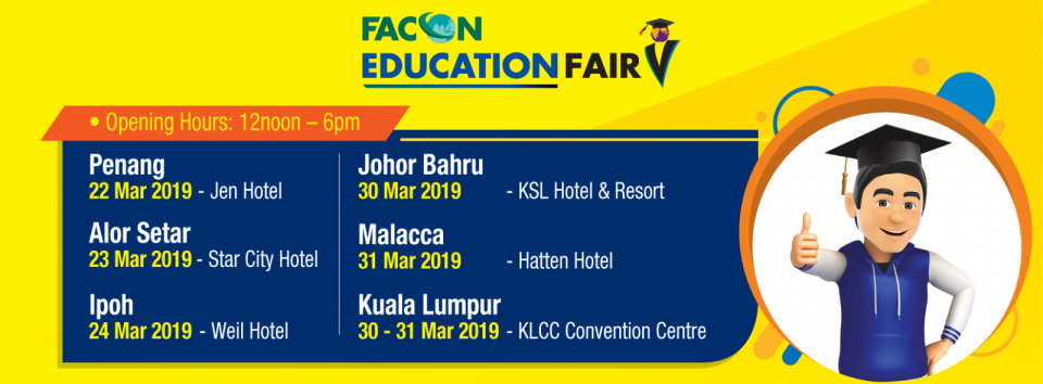 Facon Education Fair 2019 March 2019 Year 2019 Past Listing
