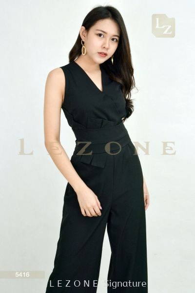 5416 V-NECK JUMPSUIT��1st 35% 2nd 45% 3rd 55%��