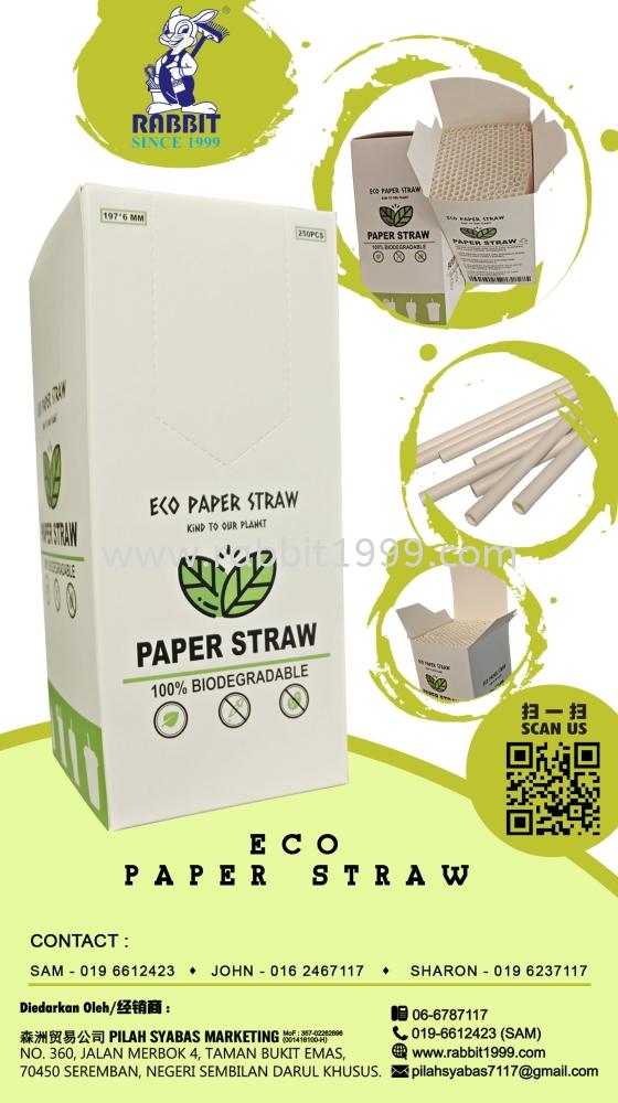ECO PAPER STRAW
