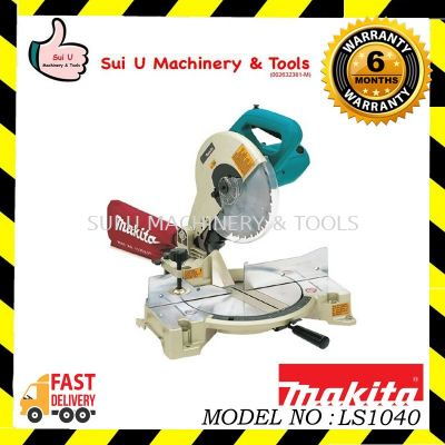 MAKITA LS1040 Mitre Saw 1650w 255mm