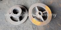 Iron casting submersible water pump holder  Parts of submersible water pump Iron Casting
