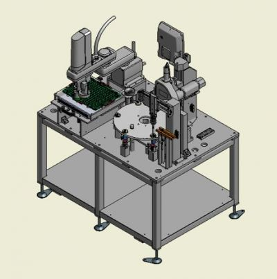 Robotic Insertion and Precision Force Pressing Machine