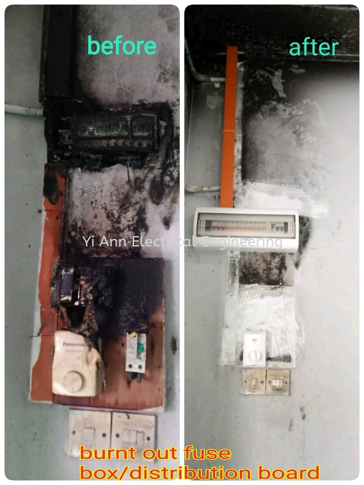 Enjoyable Replace Burnt Out Fuse Box Distribution Board Replace Burnt Out Wiring Digital Resources Dimetprontobusorg
