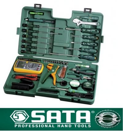 09535 SATA 53PC PROFESSIONAL ELECTRONIC TOOL SET ID118591