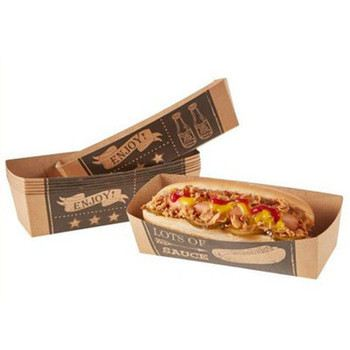 Paper Hot Dog Box