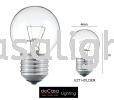 CLEAR PING PONG BULB E27 240V Loft Edison Bulb BULB / MENTOL