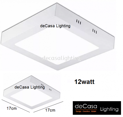 12W LED SURFACE DOWNLIGHT SQUARE