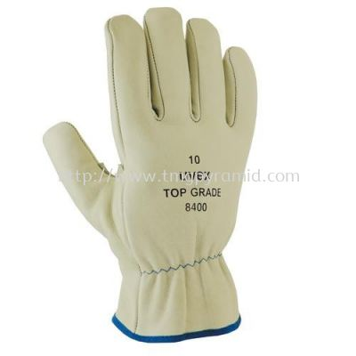 UVEX COWGRAIN WELDER GLOVE TOP GRADE 8400