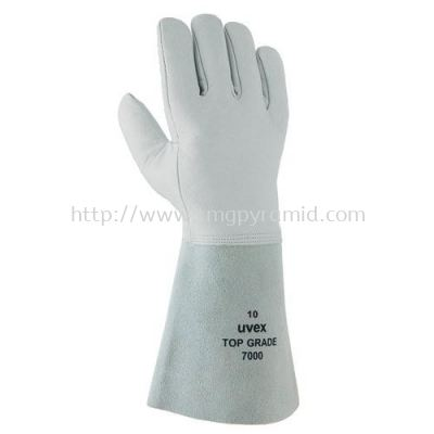 UVEX COWGRAIN WELDER GLOVE TOP GRADE 7000