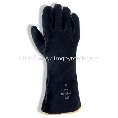 UVEX COWGRAIN WELDER GLOVE TOP GRADE 7200