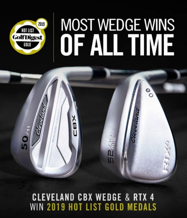 Top Rated Wedges Globally - The Cleveland RTX4 and Cleveland CBX Wedges!!!!