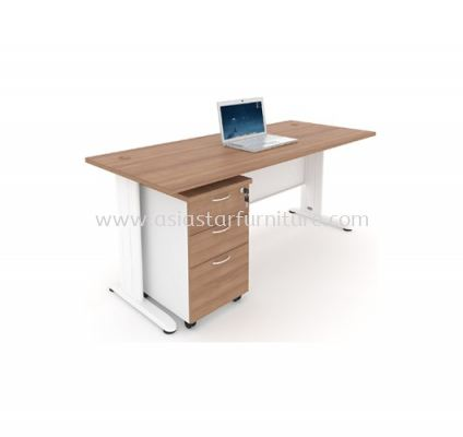 MJM 1875 RECTANGULAR TABLE WITH MOBILE PEDESTAL 2D1F