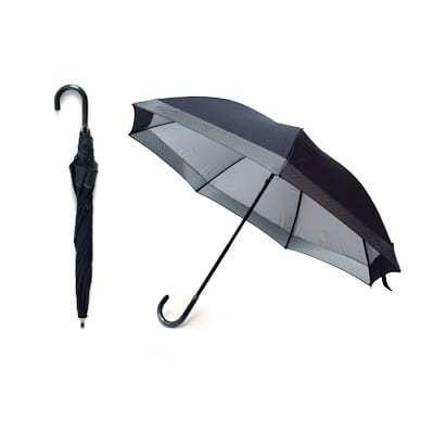 2 Fold Manual Open Straight Umbrella