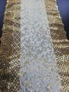 PCS TABLE RUNNER GOLD D5 Table Cover